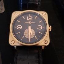Bell & Ross 39mm Remontage manuel 2012 occasion BR S