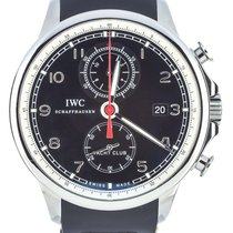 IWC Portuguese Yacht Club Chronograph pre-owned 43mm Steel