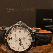 Baume & Mercier 42mm Automatic new Clifton White