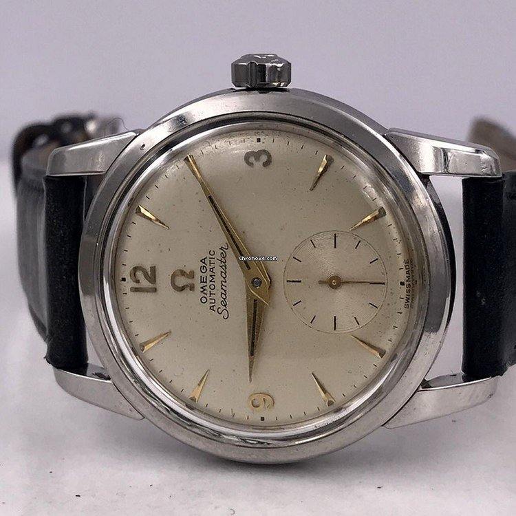 b2dfe4a6137f Omega vintage 1954 SEAMASTER ref 2848 1 cal 491 steel for  1