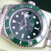 Rolex Submariner Date Acier 40mm Vert Sans chiffres France, Cannes