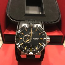 Oris Aquis Small Second Steel 46mm Black No numerals United States of America, Ohio, Plain City