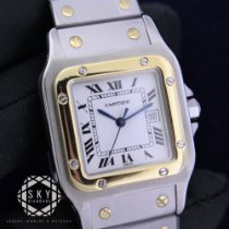 Cartier Santos (submodel) Gold/Steel 29mm White United States of America, New York, NEW YORK