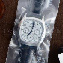 Patek Philippe Perpetual Calendar Chronograph Platinum 37mm White Arabic numerals United States of America, Texas, Houston