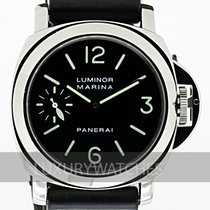 Panerai Steel 44mm Manual winding PAM00001 pre-owned