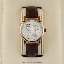 A. Lange & Söhne Lange 1 Rose gold 39.5mm Silver United States of America, New York, Airmont