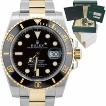 Rolex Submariner Date pre-owned 40mm Black Date Fold clasp