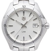 TAG Heuer Link Quartz Steel 40mm Silver