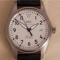 IWC Pilot Mark Staal 40mm Wit Arabisch Nederland, Amstelveen