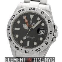 Rolex Explorer II Steel 42mm Arabic numerals United States of America, New York, New York