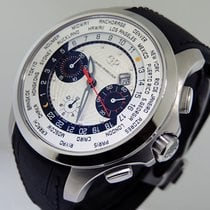 Girard Perregaux Traveller Steel 44mm White Arabic numerals United States of America, California, Los Angeles
