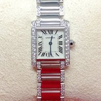 Cartier Tank Française White Gold Diamond Set - Serviced By...