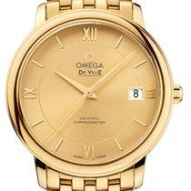Omega De Ville Prestige neu 36,80mm Gelbgold