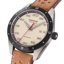 Montblanc Timewalker 118494 MONTBLANC Timewalker Pelle Marrone Crema 41mm Новые Сталь 41mm Автоподзавод