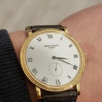 Patek Philippe Calatrava tweedehands 33mm Geelgoud