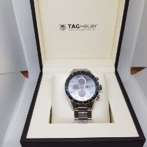TAG Heuer Zilver Automatisch 43mm tweedehands Carrera Calibre 1887