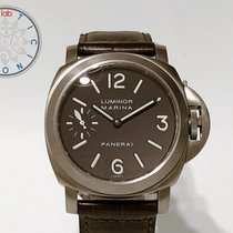Panerai Luminor Marina Titan 44mm Brun Arabisk