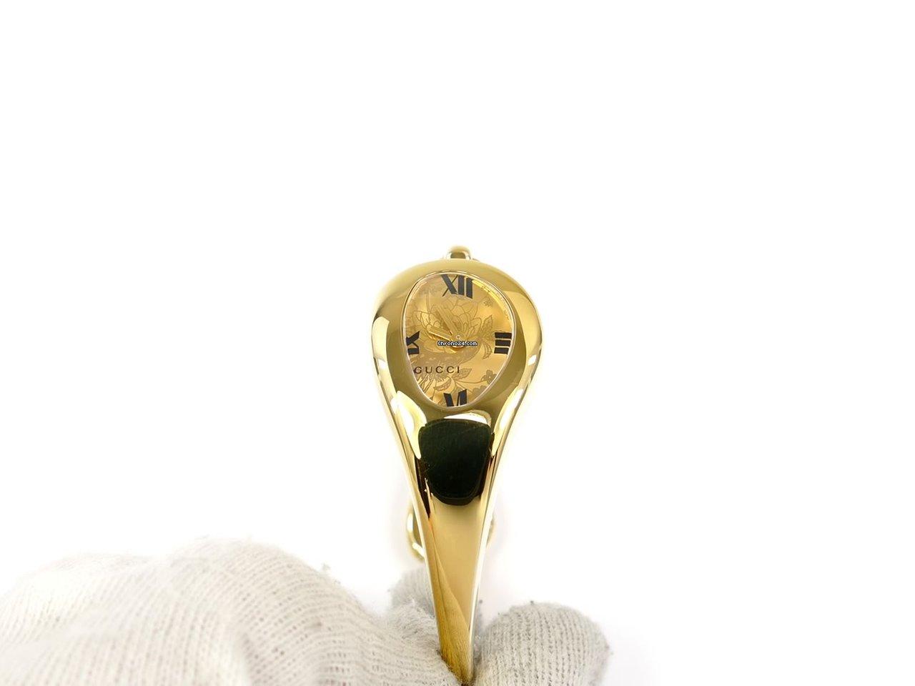 8cbf34b5e1d Gucci Horsebit 103 Champagne YA103534 18k Gold Plated für 383 € kaufen von  einem Trusted Seller auf Chrono24