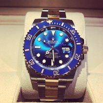 Rolex Submariner Date Gold/Steel 40mm Blue No numerals UAE, Dubai