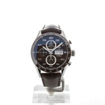TAG Heuer Carrera Calibre 16 Steel 43mm Brown Australia, Clinton