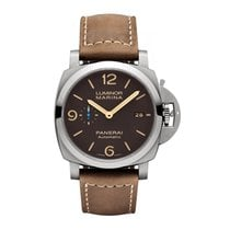 Panerai Luminor Marina 1950 3 Days Automatic Titanium 44mm Brown Arabic numerals United States of America, Iowa, Des Moines