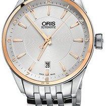 Oris Artix Date Gold/Steel 39mm Silver