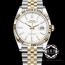 Rolex Datejust 126233 Unworn Gold/Steel 36mm Automatic