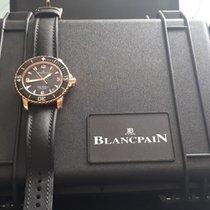 Blancpain Fifty Fathoms Or rose 45mm Noir Arabes France, BALLANCOURT