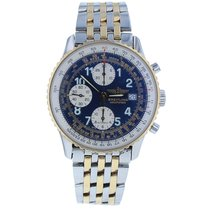 Breitling Old Navitimer Gold/Steel 40mm Blue United States of America, New York, New York
