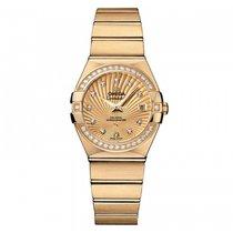 Omega Constellation Ladies Oro amarillo 27mm