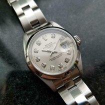 Rolex Oyster Perpetual Lady Date Acier 25mm Argent