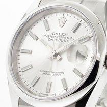 Rolex Datejust Stål 36mm Sølv Ingen tal