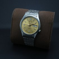 Seiko 5 Steel 35mmmm Gold