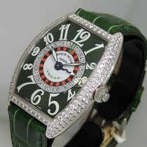 Franck Muller Vegas White gold 34.8mm Green Arabic numerals United States of America, California, Los Angeles
