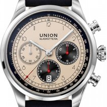 Union Glashütte Belisar Chronograph 44mm Black
