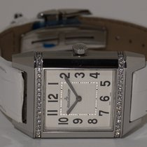 Jaeger-LeCoultre Reverso Squadra Lady Stahl 32.5mm Silber Arabisch