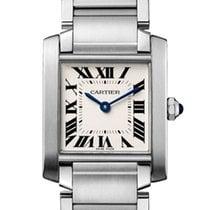 Cartier Tank Française new 2018 Quartz Watch with original box and original papers WSTA0005
