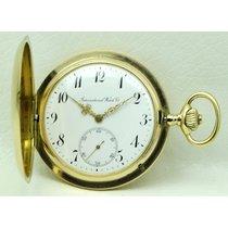IWC Uhr gebraucht 1915 Gelbgold 53mm Arabisch Handaufzug Nur Uhr