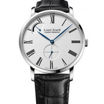 Louis Erard new Manual winding Display Back Small Seconds 40mm Steel Sapphire Glass