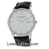 Baume & Mercier Authentic Mens  Classima XL 65493 Steel ...
