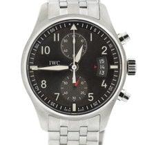 IWC IW387804 Acier Pilot Spitfire Chronograph 43mm occasion