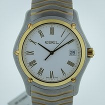 Ebel Classic Mens, Two-Tone, Stainless Steel and 18K Gold,...