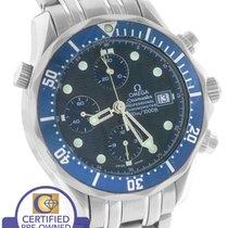 Omega Seamaster Professional Chronograph 300M 2599.80 Blue Wave