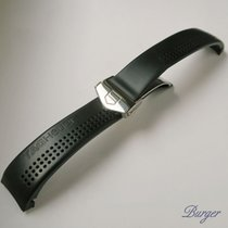 TAG Heuer Rubber Strap With Folding Clasp