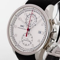 IWC Schaffhausen Portuguese Yacht Club Chronograph Edelstahl...