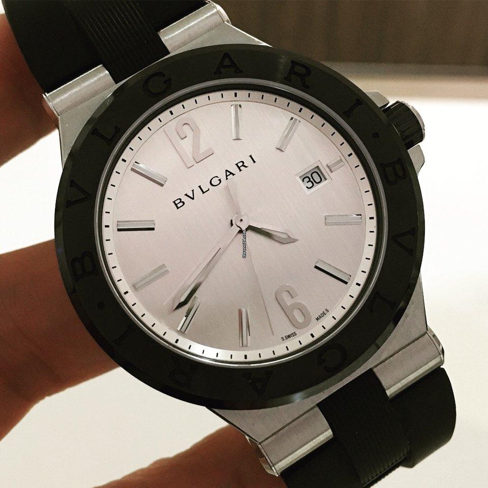 87426e6b798 Bulgari Diagono Aço - Todos os preços de relógios Bulgari Diagono Aço na  Chrono24