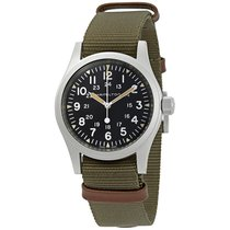 Hamilton Khaki Field Steel 38mm Black