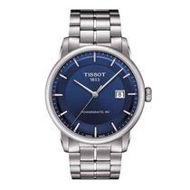 Tissot Luxury Automatic Zeljezo 41mm Plav-modar