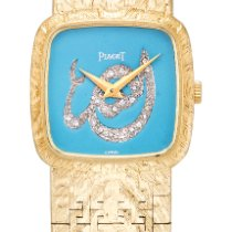 Piaget Reference 9902 A 23 A Yellow Gold And Diamond-set...