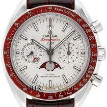 Omega Speedmaster Professional Moonwatch Moonphase Platin 44,25mm Grau